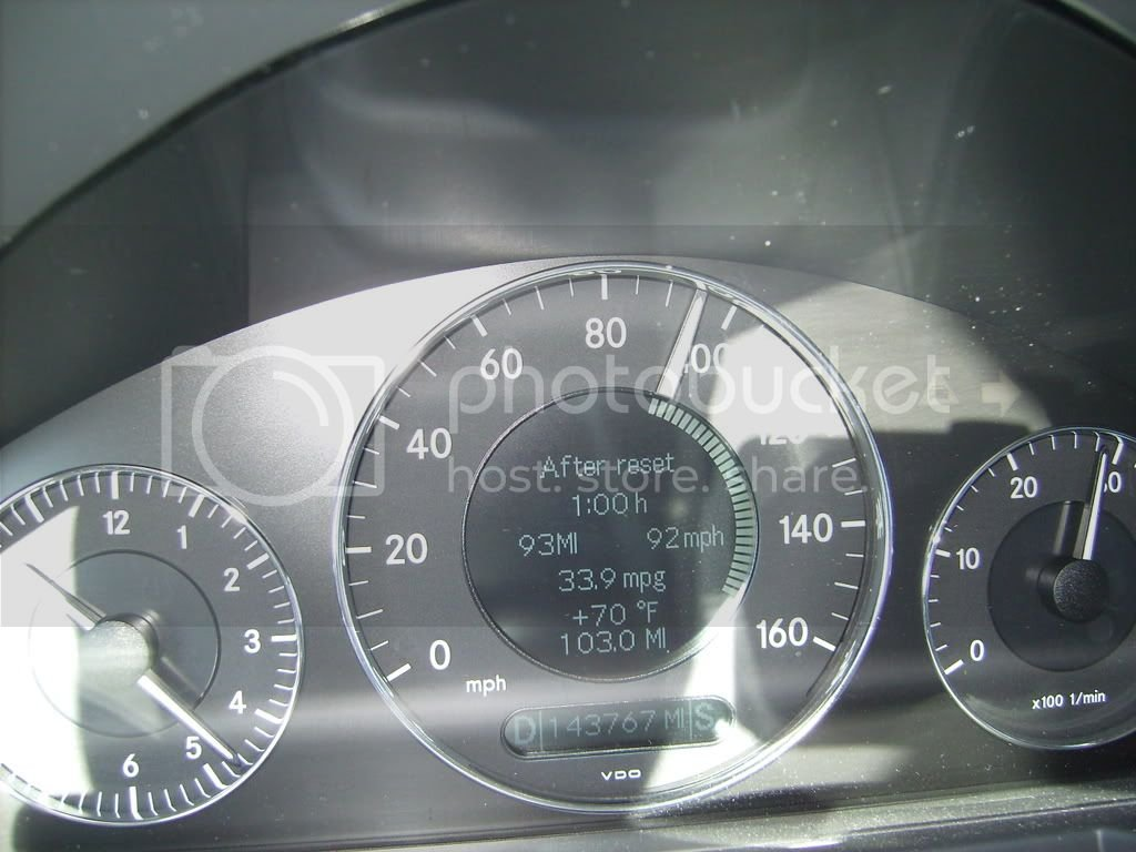 Is 3100 rpm normal for E430 sport to run at 80 mph