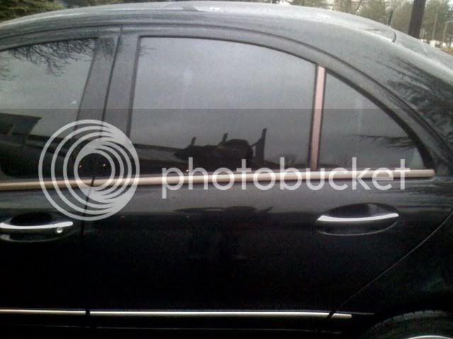 124 metal window trim | Mercedes-Benz Forum