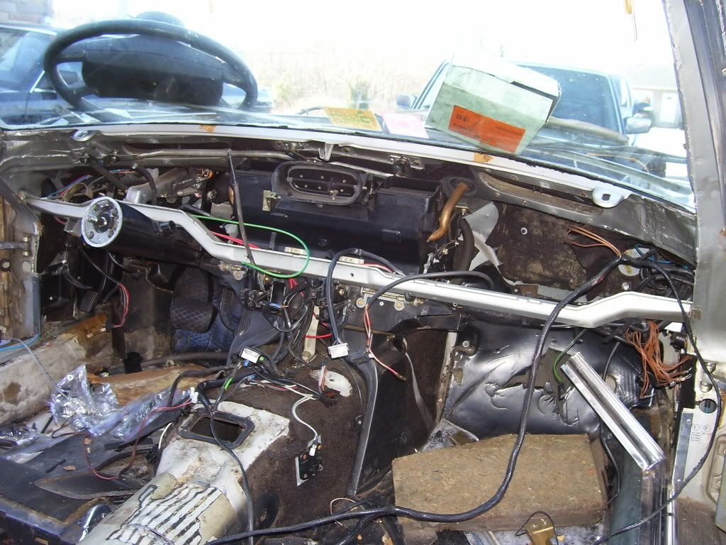 1973 450SL-How to remove dashboard | Mercedes-Benz Forum