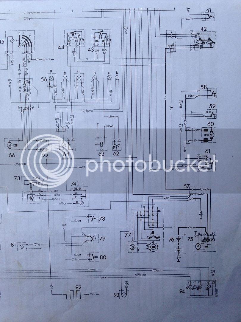 280te Or 280e Wiring Diagram