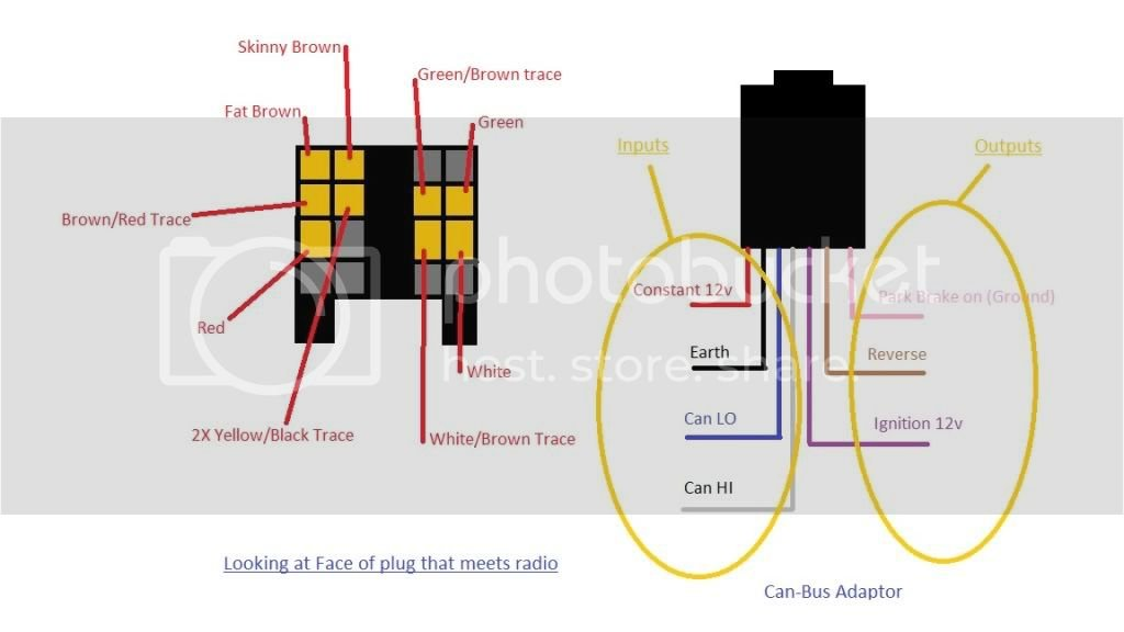 07 Vito new head unit can bus wiring help | Mercedes-Benz Forum Xh Radio Wiring Diagram on