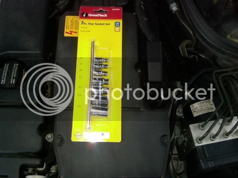 2005 C230 Kompressor Spark Plug Change