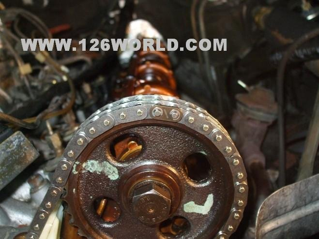 W126 V8 Mercedes Timing Chain + Guide Install   Mercedes