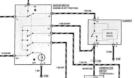 1978 thru 1981 - Turn Signal/Hazard Flasher Repair