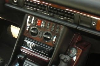 Climate Control Wood Trim with 7 Switches | Mercedes-Benz Forum