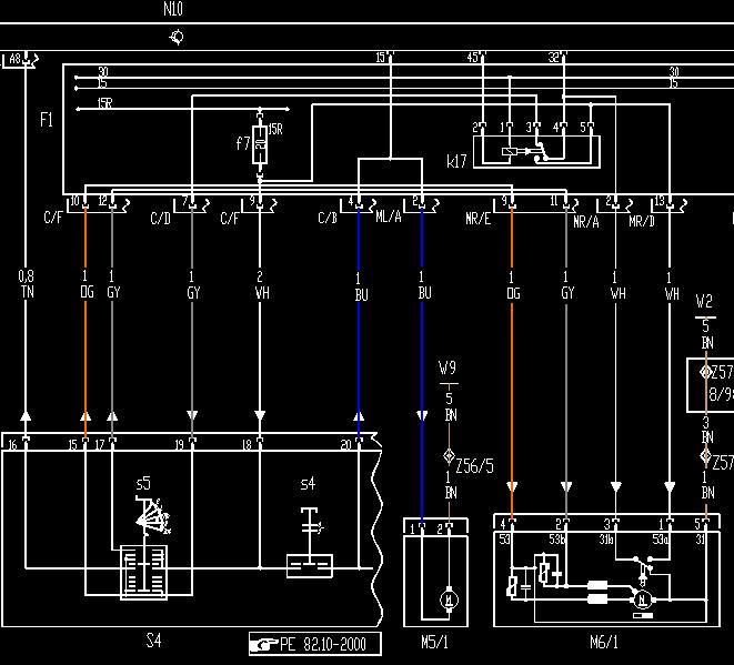 Wiper Motor Wiring Schematic