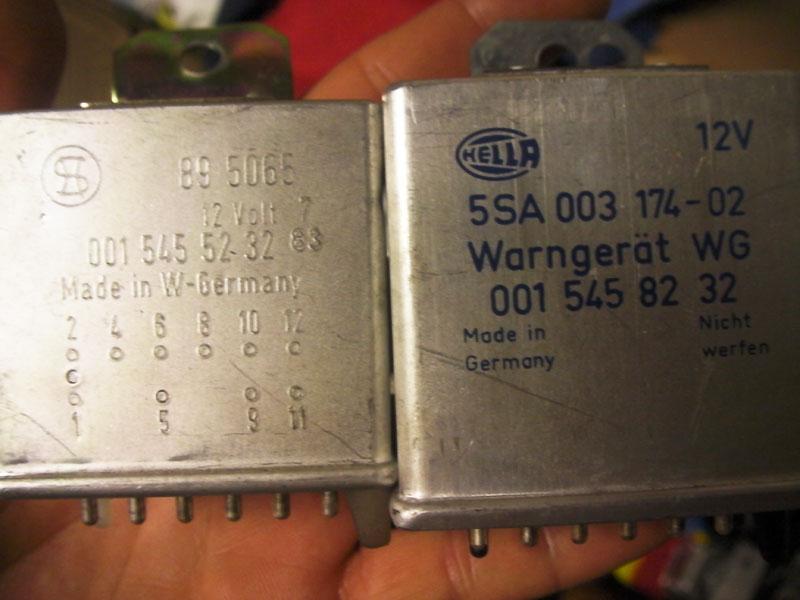 please help me find relay that controls buzzer for open door