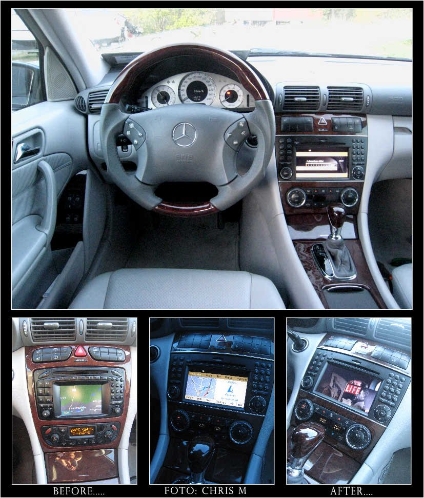 My faclifting inc new Comand NTG 2 5   Mercedes-Benz Forum