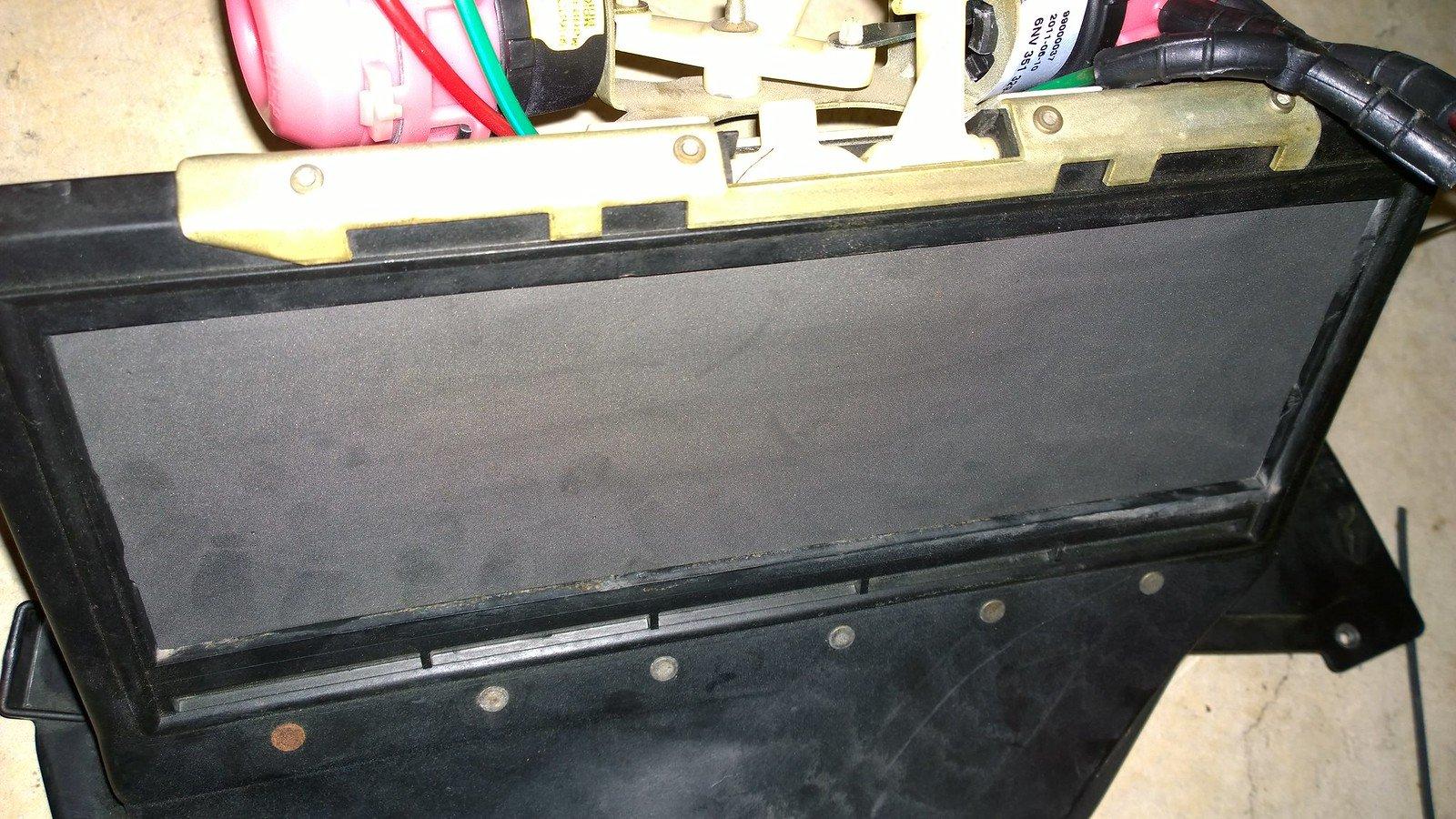 DIY: HVAC Box Rebuild (Heater Core/Evap Core)   Mercedes