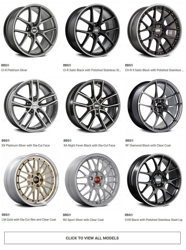 BBS Racing Wheels - Choose a set for your Mercedes