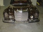 1972 Mercedes Benz 280 SEL 4.5 Liter W107/W108 Project Car For Sale