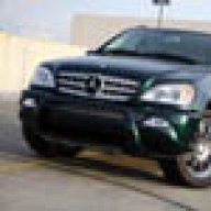 Mercedes GENUINE W163 ML320 ML350 ML500 Front License Plate Base Primered NEW